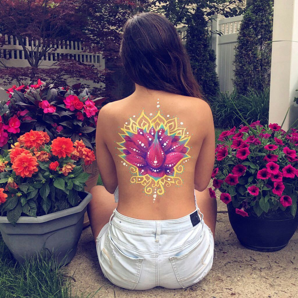 The Person Who Broke You Can T Put You Back Together Mxsicandbands Body Art Painting Body Art Body Painting