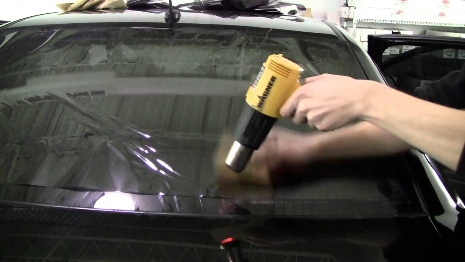 How To Tint A Back Window Tinted Windows Car Diy Window Tint