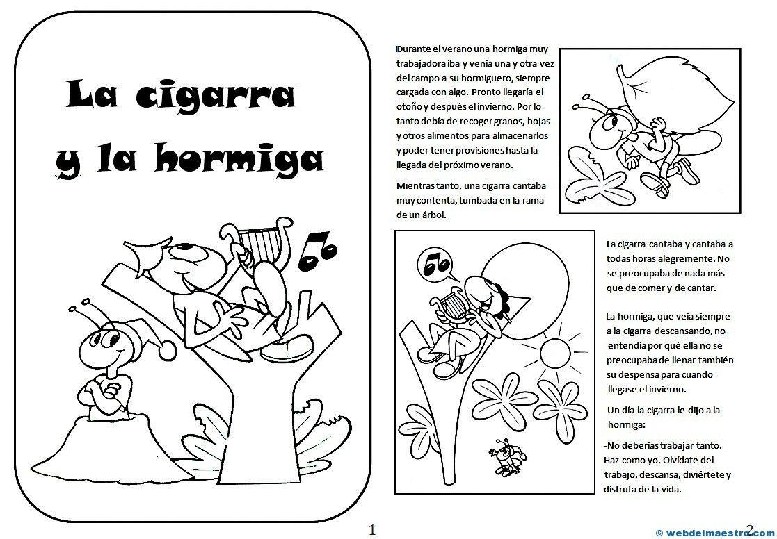 Lectura Comprensiva Archives Web Del Maestro Las Hormigas Fabulas Para Ninos Hormigas