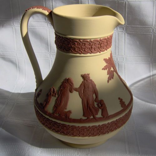 Wedgwood Jasperware Terracotta And Black