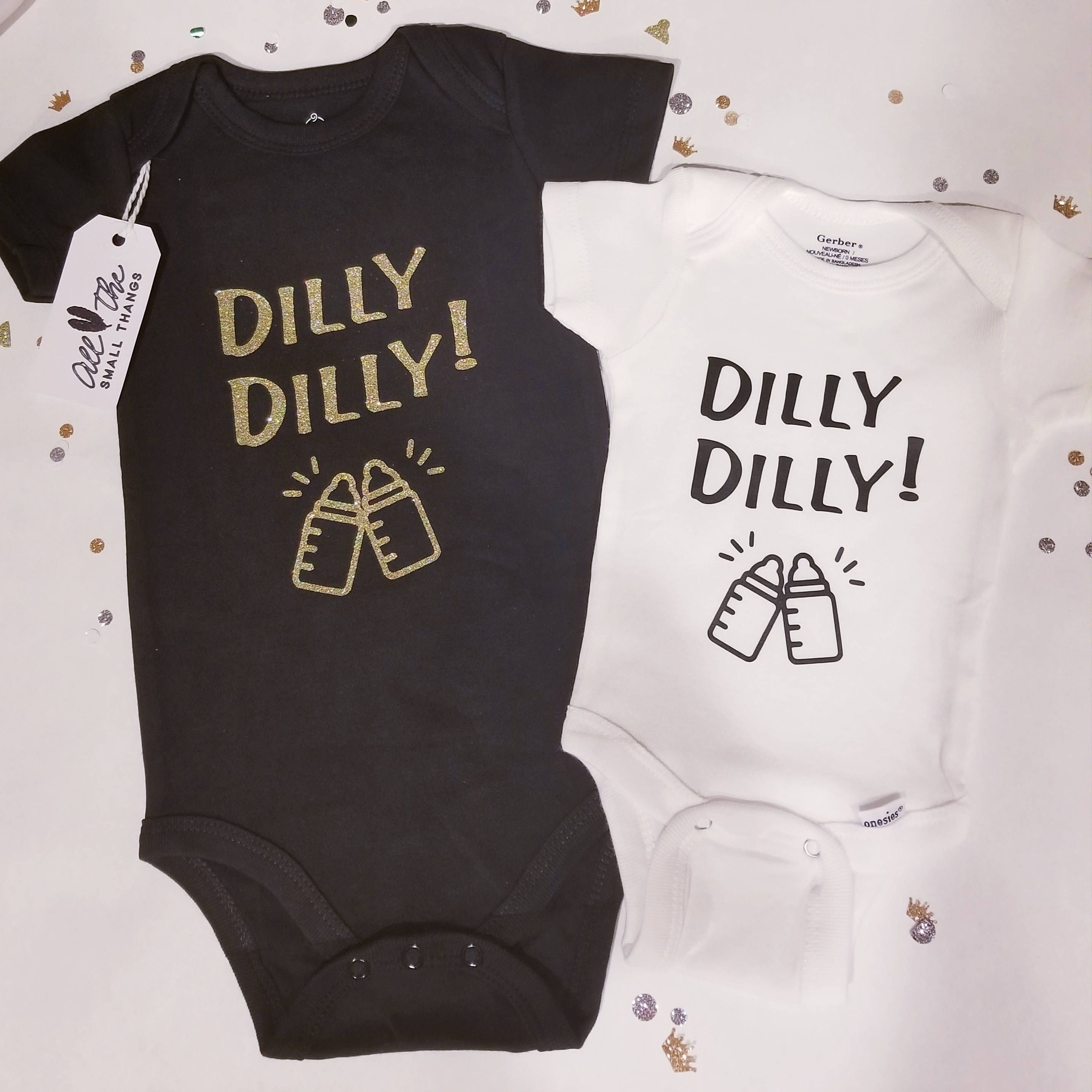 91b401e83 Dilly dilly, Cheers, New Years onesie, New Years, baby onesie, funny onesies,  baby girl, baby boy, baby shower by AllTheSmallThangs on Etsy
