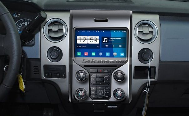 How to install 2012 2013 Ford F150 car stereo with bluetooth