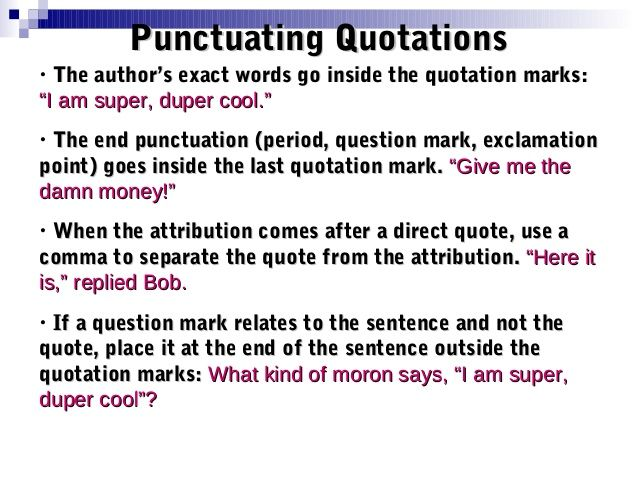 Punctuation In Quotes Classy Related Image  School Ideas For English Lessons  Pinterest