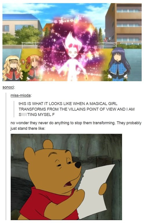 Meanwhile At Some Anime Character Transformation Scene Anime Funny Funny Pictures Tumblr Funny