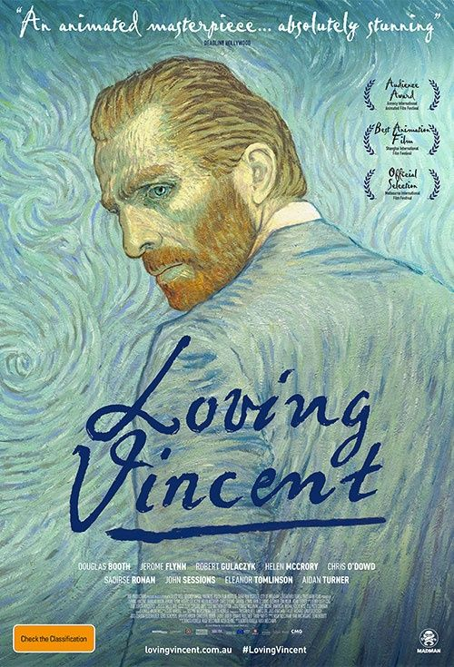 Loving Vincent a story depicted in oil painted animation