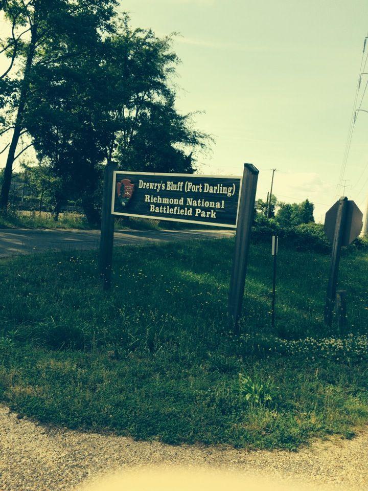 Drewry S Bluff Fort Darling Battlefield Richmond National Battlefield Park Park Virginia