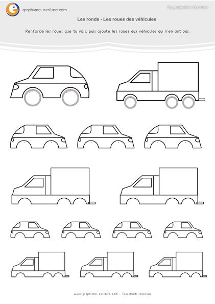 Pdf fiche de graphisme ms les ronds activit graphique - Exercice dessin industriel coupe et section ...
