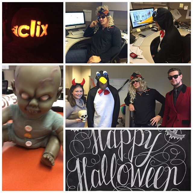 Happy Halloween from The Clix Group! #officehalloween