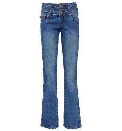 Spodnie Damskie Jeansy Niebieskie Bootcut In 2020 Fashion Bell Bottoms Bell Bottom Jeans