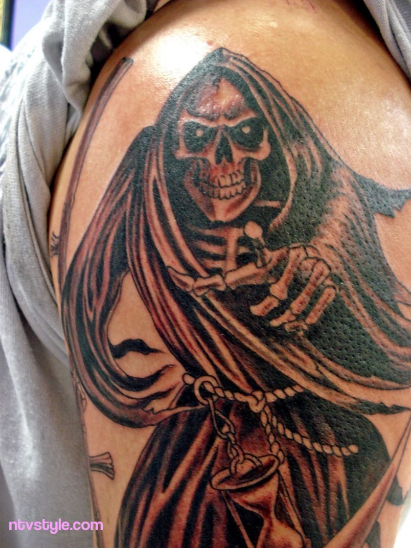 scary grim reaper tattoos http://www.ntvstyle/scary-grim