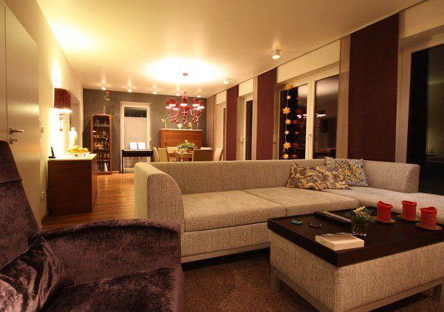 Grou00dfes Wohnzimmer Gemu00fctlich Gestalten Goetics - wohnzimmer couch gemutlich