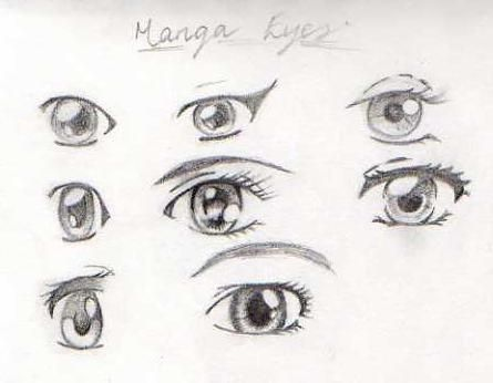 Some Of You May Remember My 100 Ways To Draw Manga Eyes Video For Youtube And Its Accompanying Graphic Here On Deviantart I Manga Eyes Eye Drawing Drawings