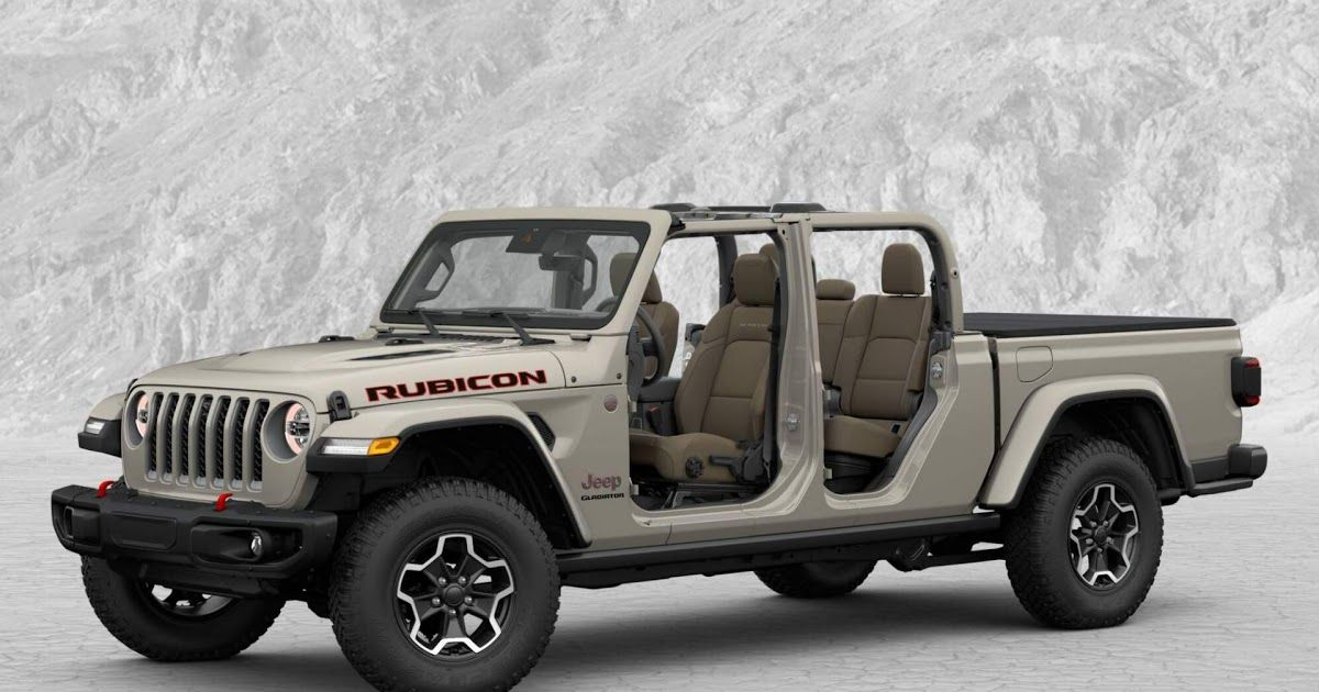 Here's What A FullyLoaded 2020 Jeep Gladiator Rubicon