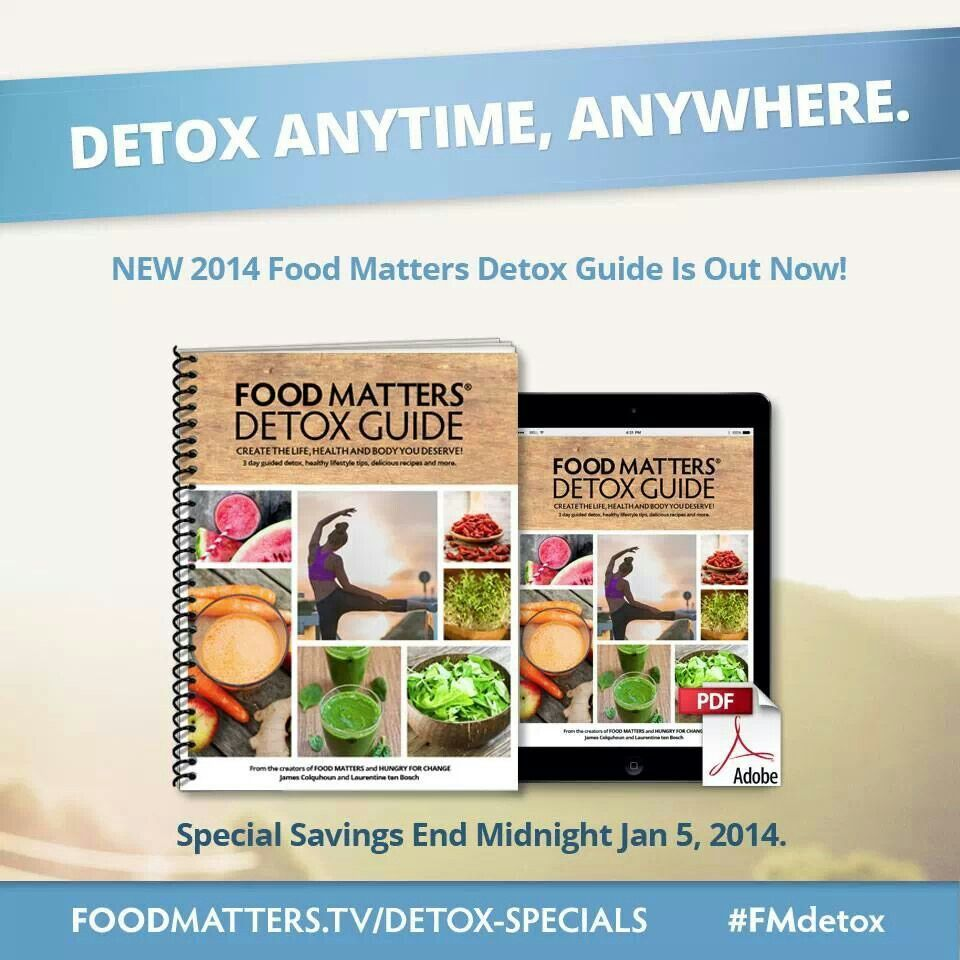 Food matters detox guide motivation pinterest new food matters 2014 detox guide is out now special savings end midnight jan forumfinder Image collections