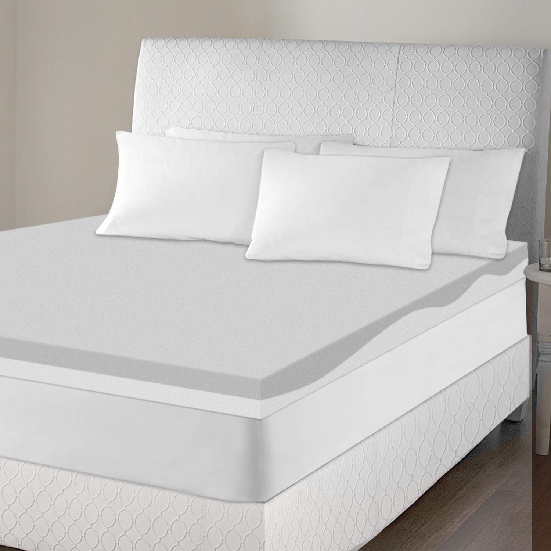 USA Sinomax Sleep 4-inch Contour Memory Foam Mattress Topper