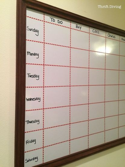 How To Make A Big Diy Whiteboard For Cheap, How To
