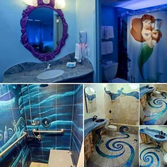 Little Mermaids Bathroom Girl Bathrooms Mermaid Bathroom Little Mermaid Bathroom