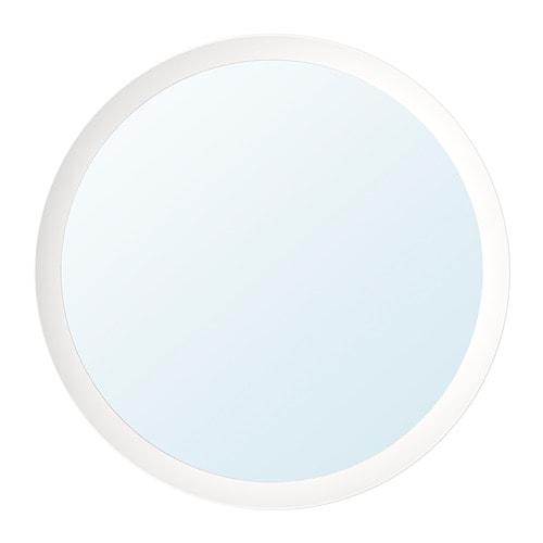 Langesund Mirror White 19 5 8 Ikea Round White Mirror Mirror Ikea Mirror