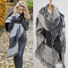 99bef17b31d1 Marque de luxe couverture écharpe femme cachemire Pashmina   laine écharpe  châle femmes foulards chaudes Cape Poncho livraison gratuite(China  (Mainland))
