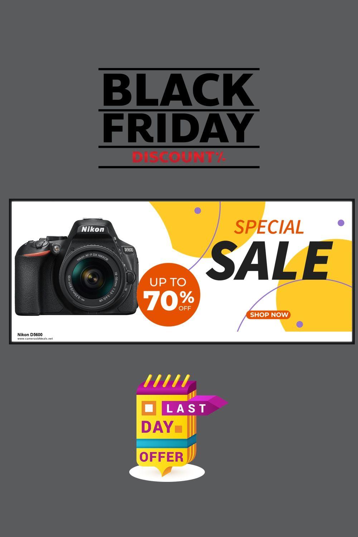 5 Best Nikon D5600 Black Friday Deals 2020 In 2020 Nikon D5600 Black Friday Camera Black Friday