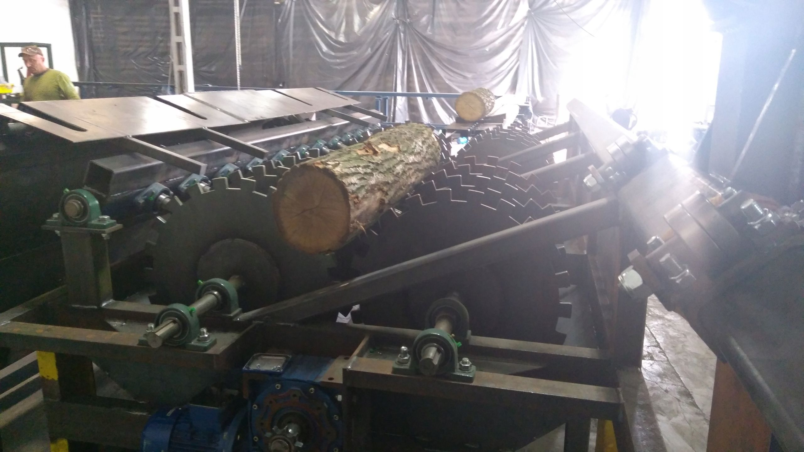 Maszyny Do Drewna Tartaki Podajniki Korowarki 7741215326 Oficjalne Archiwum Allegro