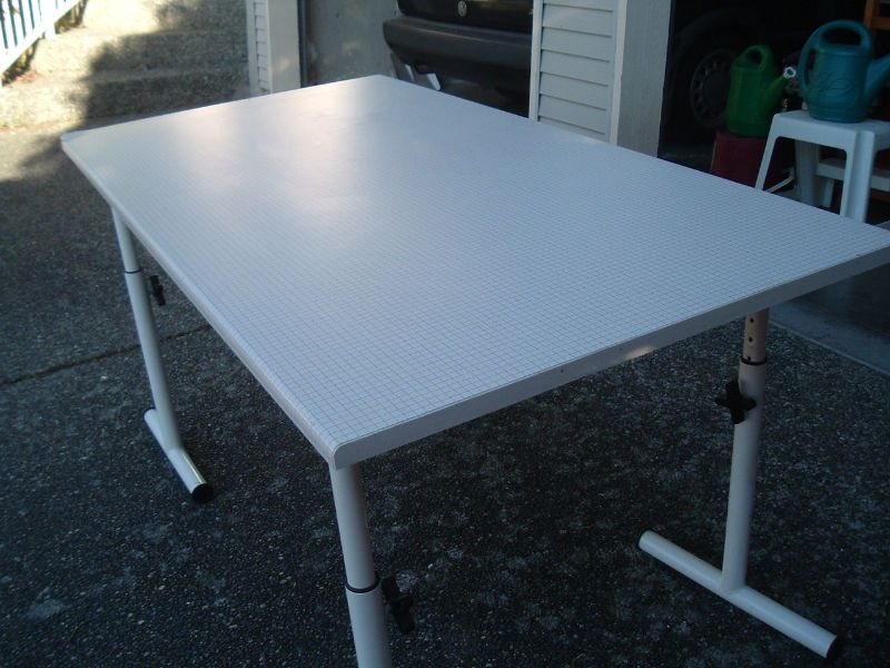 """dimension, 31.5"""" x 59"""" table top is melamine, very strong ..."""