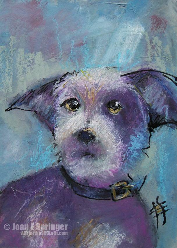Puppy #1 by fine artist Joanie Springer