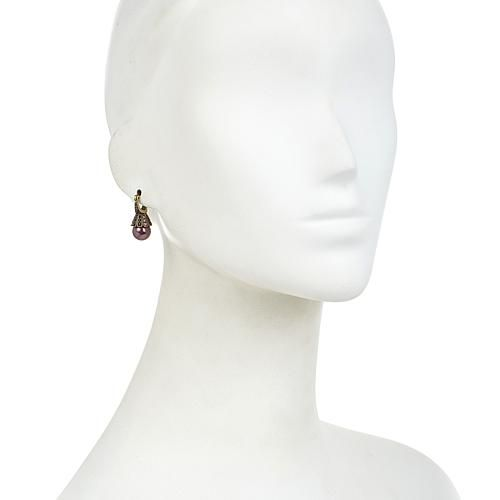 """Heidi Daus """"Distinguished Opulence"""" Necklace and Earrings Set - Gray/Grey"""