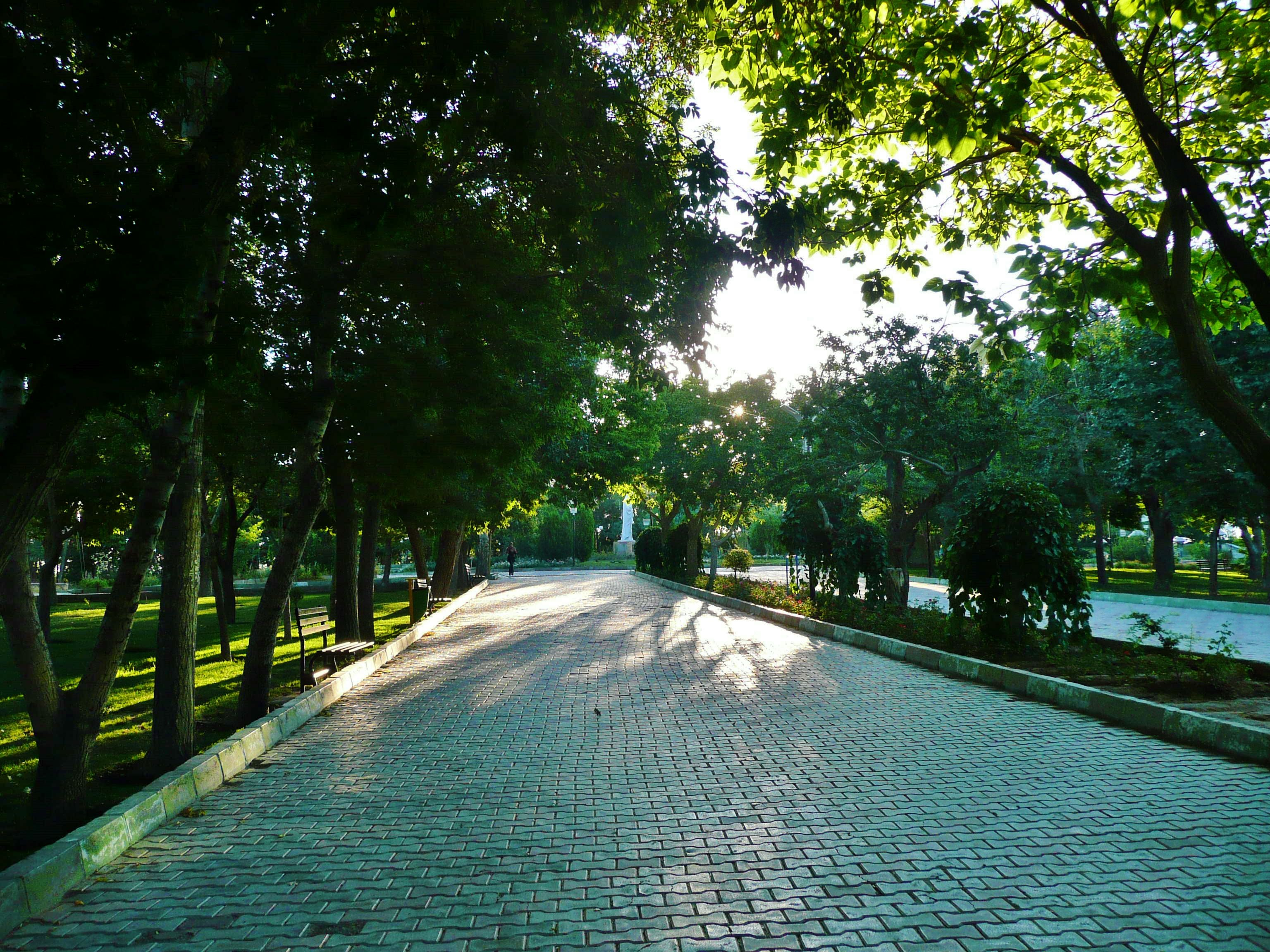 The Shah Goli grounds are very serene early in the morning and perfect for brisk runs and exercise.  Shah Goli Park - Tabriz, Iran