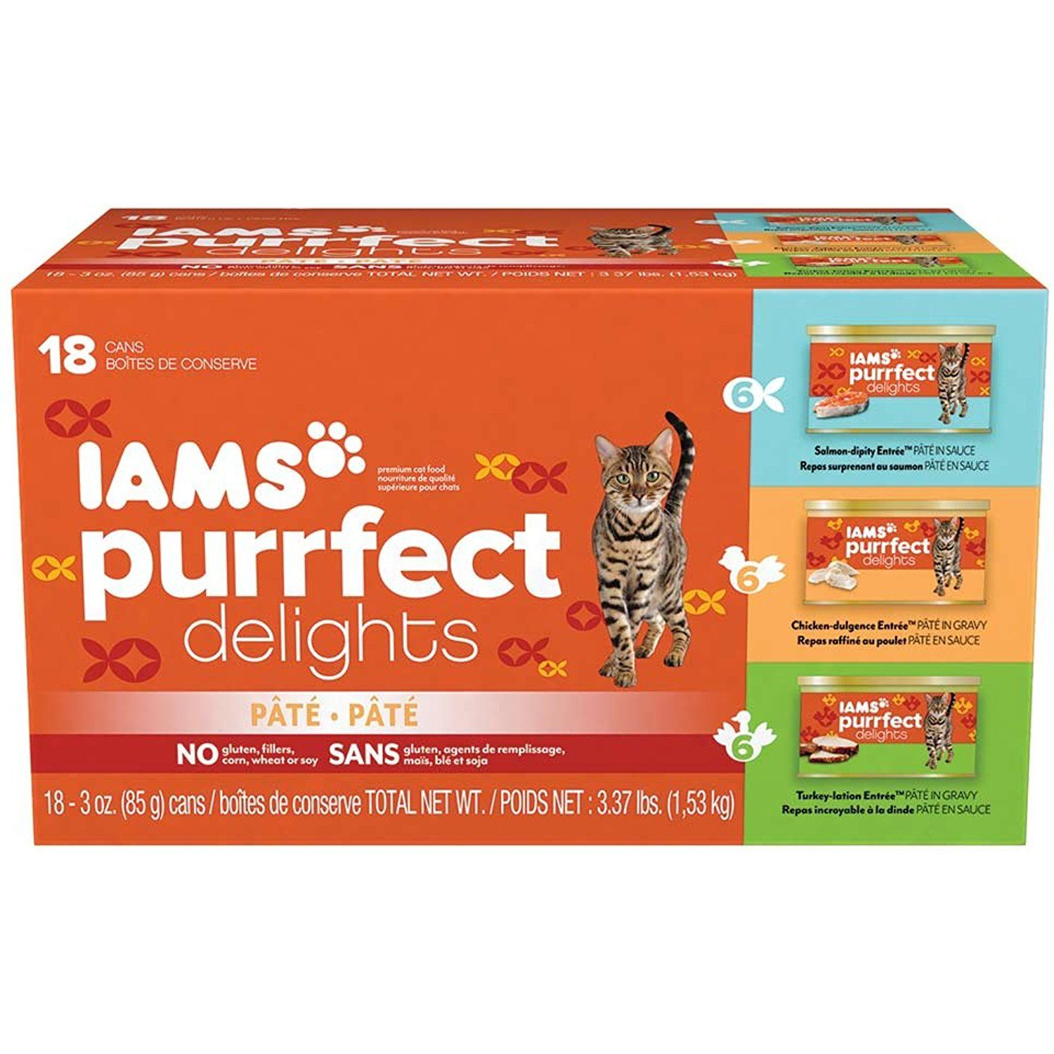 IAMS Purrfect Delights Pate Adult Wet Cat Food Continue to the