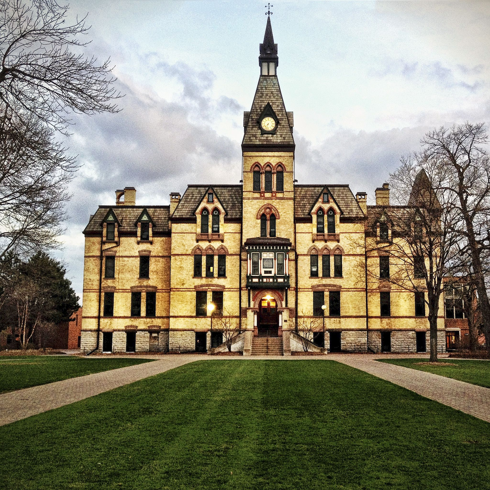A Building On The Hamline University Campus Nestled Away In The