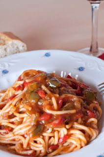 Tiempo de cocinar: Pasta con pimientos y anchoas | Cooking time ...