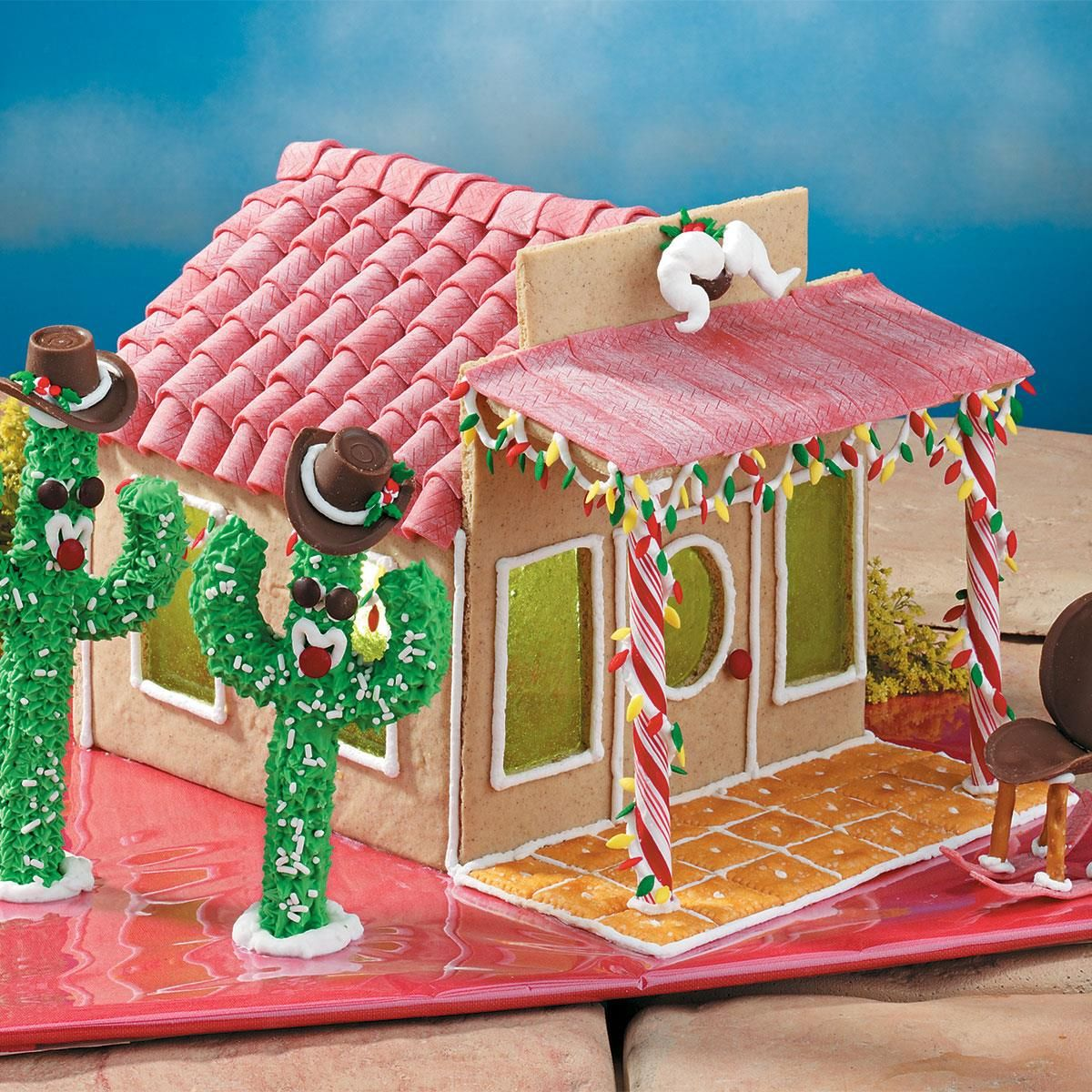 Gingerbread Ranch House Recipe Christmas gingerbread