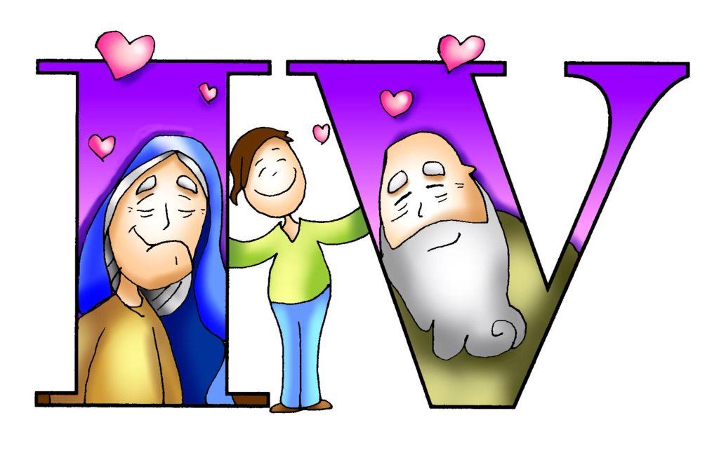 Amar A Nuestros Padres Religioso Catequese Desenhos