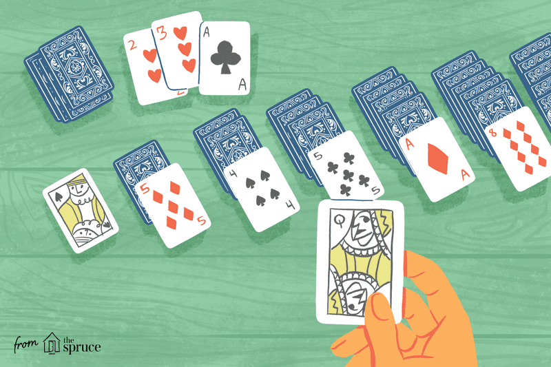 Solitaire Card Games Using a Standard 52Card Deck