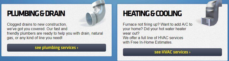 Plumbing Hvac Air Conditioning Heating Sewer Repair Drain