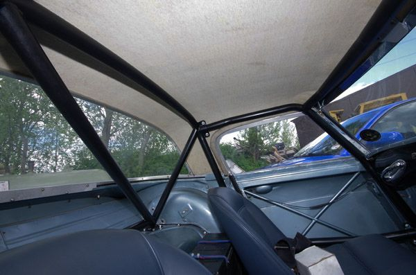 Austin Healey 3000 roll cage