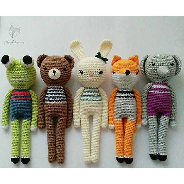 amigurumi #crochet | amigurami patterns | Pinterest | Amigurumi ...