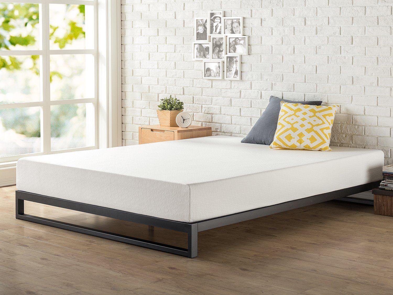 Amazon.com: Zinus 7 Inch Heavy Duty Low Profile Platforma Bed Frame ...
