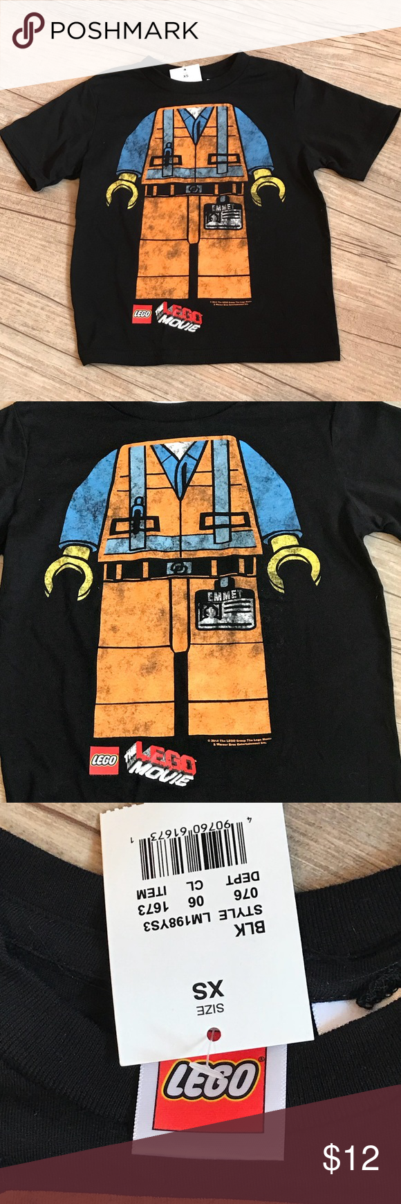 Nwt Lego Movie Shirt My Posh Picks Pinterest Short Sleeve Tee Brand Size Xs 4 New With Tags