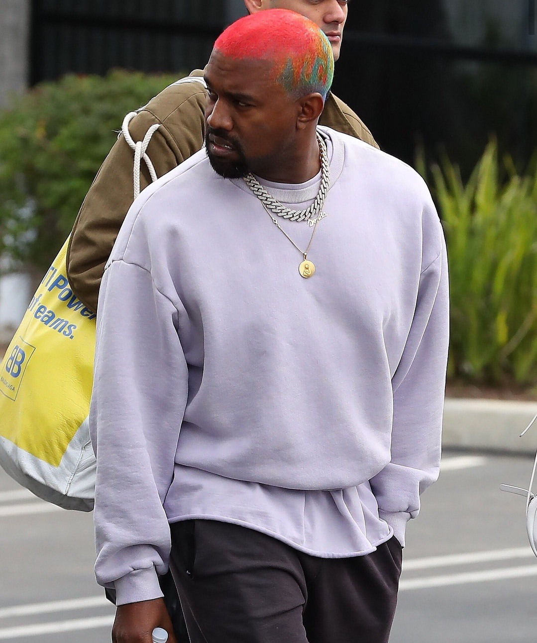 Pin By Miead Mahdavi On Buzzed Hair Dyed Hair Men Kanye West Outfits Men Hair Color
