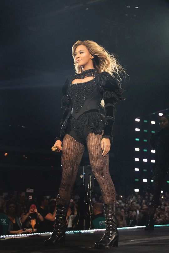 """beyoncefashionstyle: """"Formation World Tour in Amsterdam (July 16) """""""