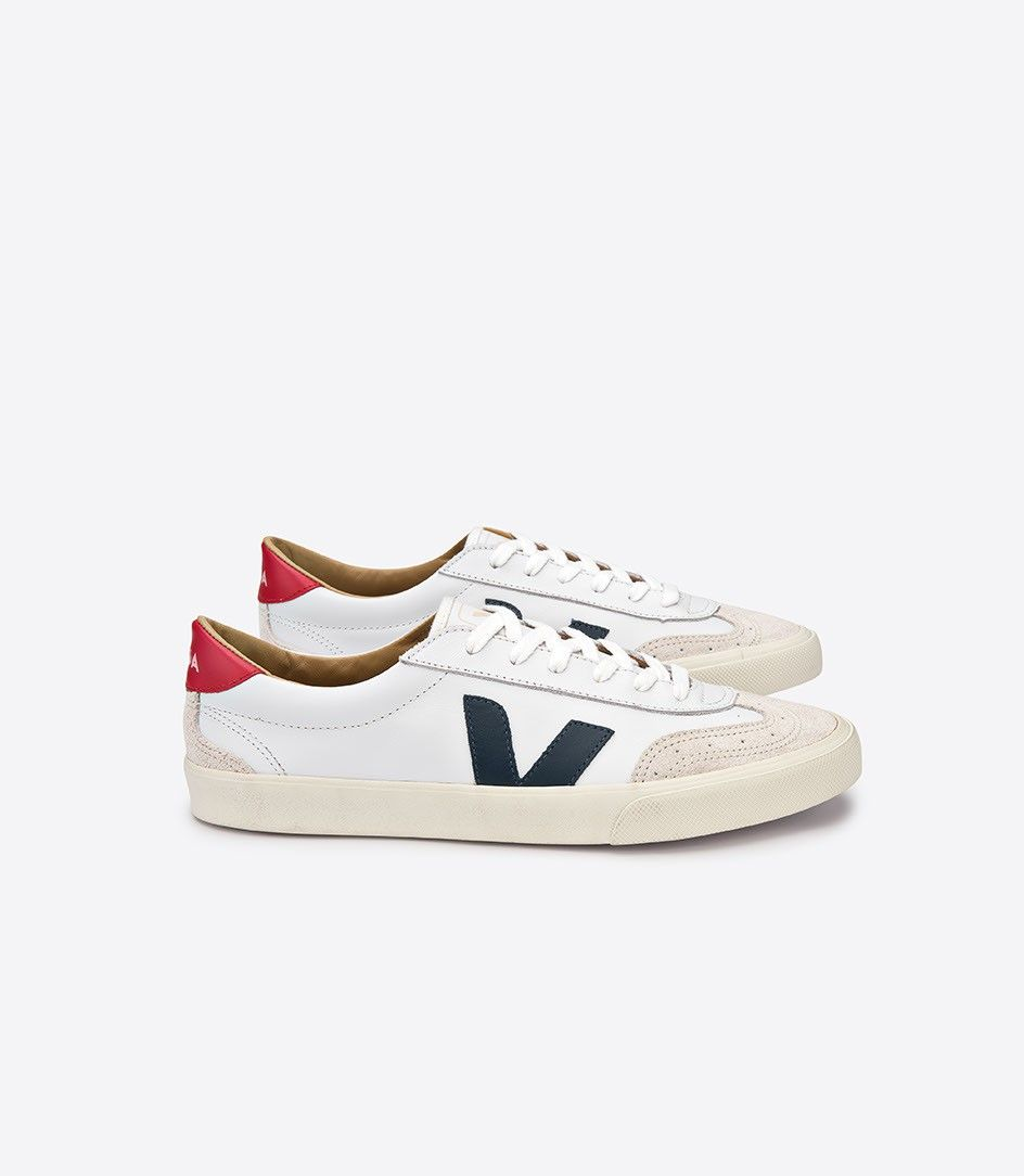 Veja Volley sneaker in low chrome