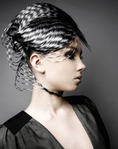 artistic hairstyles. wanted