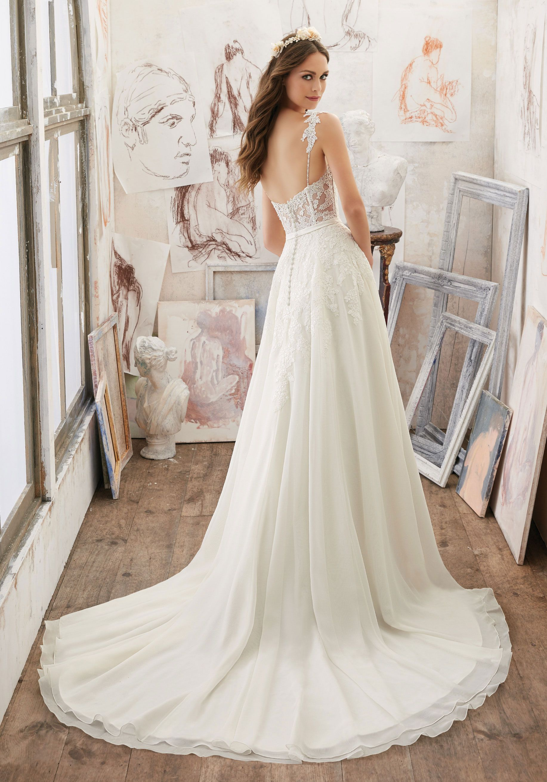 1f39258896ac Marzena Wedding Dress - Morilee | Weddings in 2019 | Pinterest ...