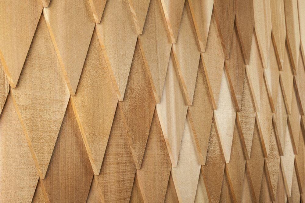 Best 3 99 Sq Ft Cedar Decorator Shingles Wide Diamond 4 400 x 300