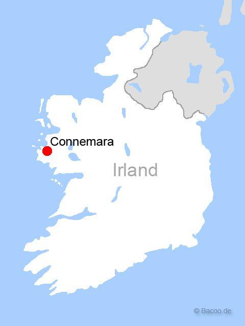 Irland Cliffs Of Moher Karte.Irland Connemara Karte Kleve Landkarte
