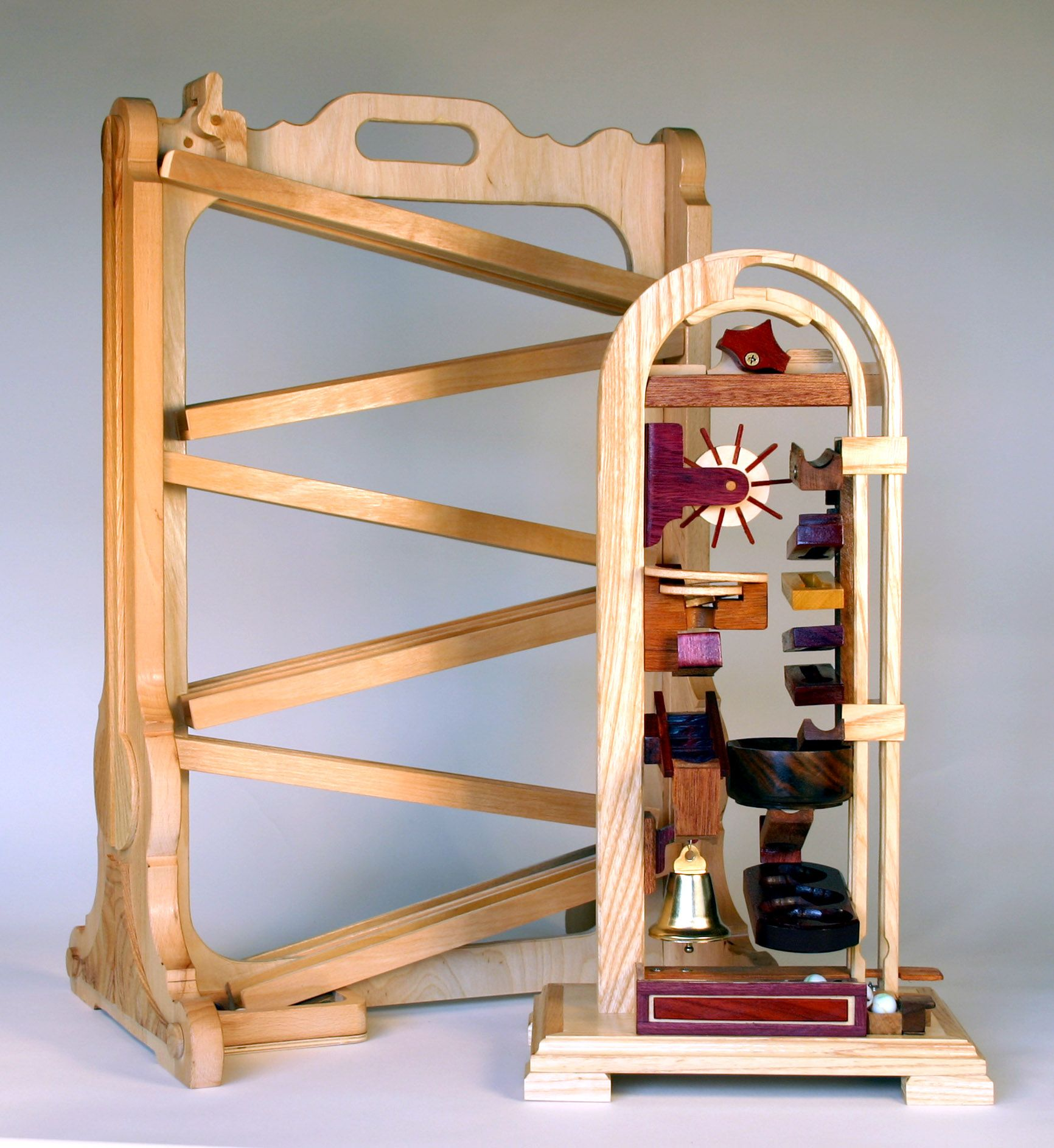 Tabletop Marble Games Woodworking plans Marble machine