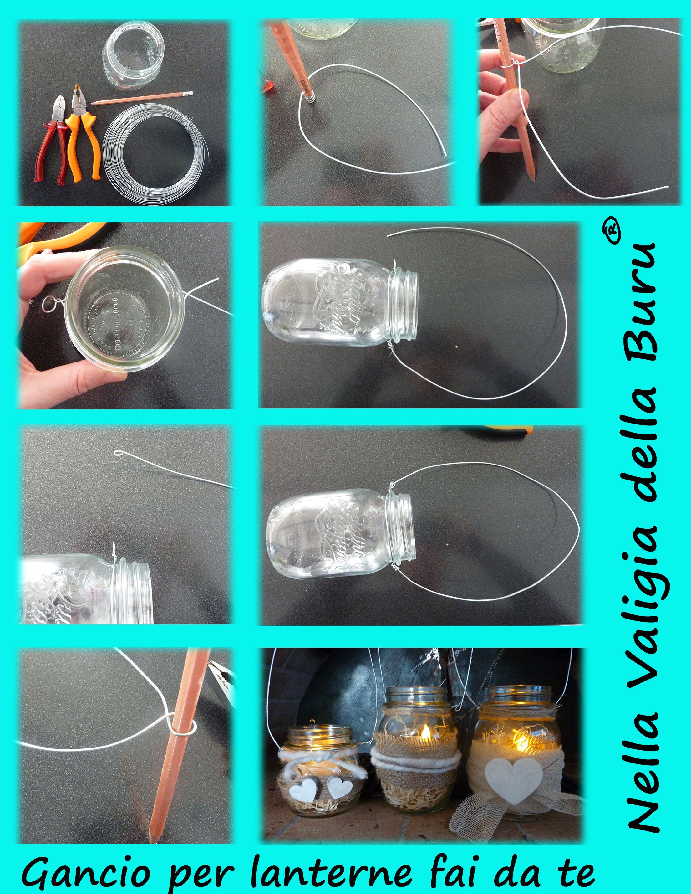 Tutorial per realizzare lanterne fai da te home decor for Realizzare impianto idraulico fai da te