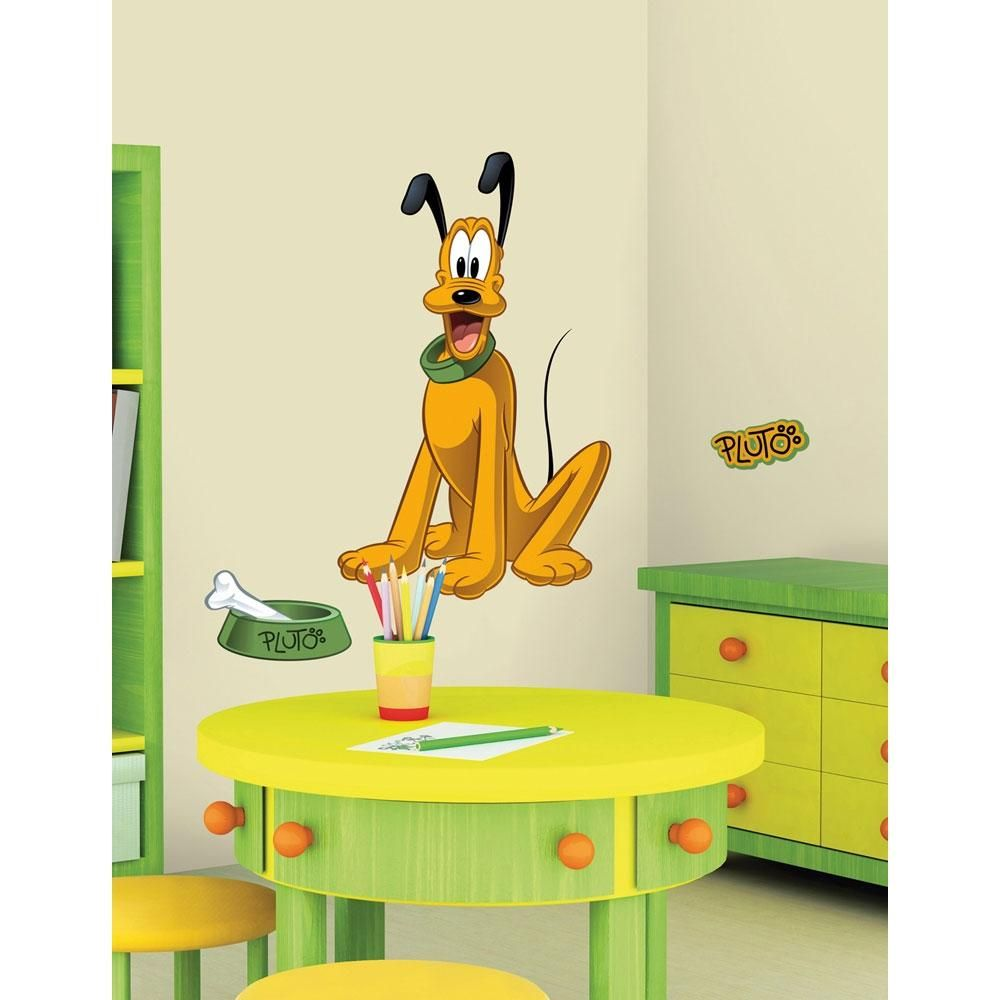 oBedding - #York Wallcoverings Disney Pluto Wall Accent Sticker Set ...